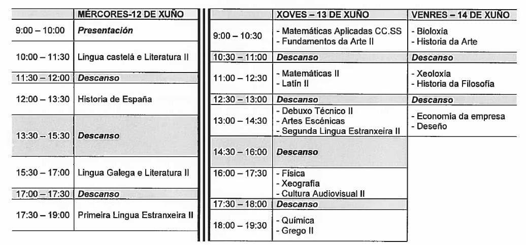 Calendario De Examenes.Calendario De Examenes Abau 2019 Abau